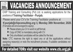 CTC Punjab Jobs 2020