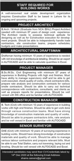 Development Organization Jobs 2020