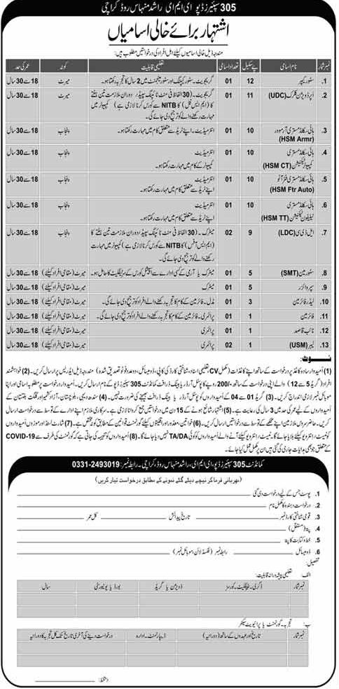 Join Pak Army Advertisement 2020